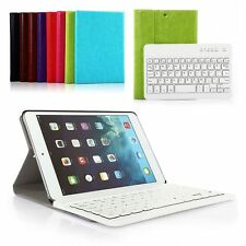 Removable For iPad mini1/2/3 Wireless Hard ABS Bluetooth Keyboard Case Cover