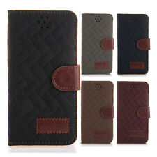 Luxury PU Leather Wallet Pouch Stand Flip Case Cover Card Slot Skin for iPhone 6