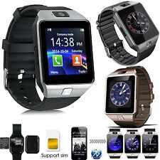 Bluetooth Wrist Smart Watch Phone For Apple iPhone 6 6S Samsung Galaxy S6 LG G2