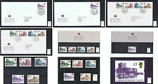 1992 Castle High Values Definitive stamps Choice Used Mint FDC Presentation Pack
