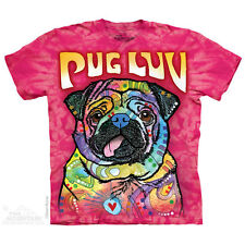 THE MOUNTAIN PUG LUV LOVE ANIMAL CUTE ADORABLE PUPPY FACE PET DOG T SHIRT S-5XL