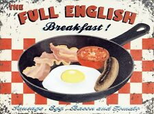 New Full English Breakfast Tin Sign