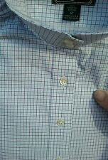 NEW BEACON HILL $69 White Check Long Sleeve Ratcatcher Horse Show Shirt 10 12