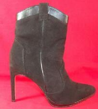 Women's ROCK REPUBLIC GINA Black Zipper High Heel Stilleto Dress Boots Shoes NEW