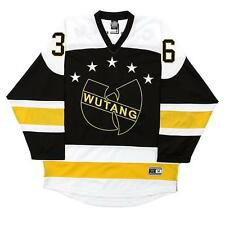Wu Tang Clan Hockey Jersey C.R.E.A.M. CREAM 36 Chambers Killer Bees Limited RARE