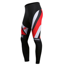 Men Bike Padded Pants Bicycle Wear Riding Outdoor Sports Cycling Lycra Tights