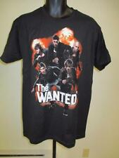 New THE WANTED Mens Adult SIZE S-M- L-XL Concert Band T-SHIRT