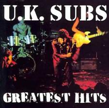 U.K. SUBS - GREATEST HITS USED - VERY GOOD CD
