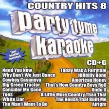 Party Tyme Karaoke: Country Hits, Vol. 8 New CD