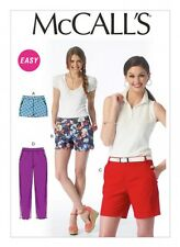 McCalls Ladies Easy Sewing Pattern 6930 Shorts & Pants (McCalls-6930-M)