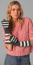 NEW Juicy Couture Gloves Pop Top Rugby Stripes 'pick color'