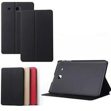 New Smart Wake/Sleep Flip Leather Stand Case Cover For Samsung Galaxy Tab E T560
