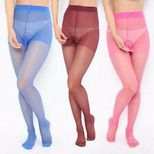 sexy Silk stockings Tights Underwear Mens Pantyhose Penis Pouch Sheath 4 Colors