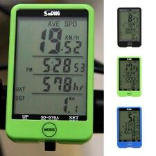 Waterproof Digital LCD Computer LCD Cycle Bicycle Bike MTB Speedometer Odometer