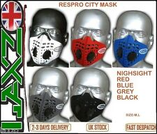 RESPRO CITY ANTI-POLLUTION BIKE CYCLE FACE COVER MASK POLLUTION CYCLE FILTER