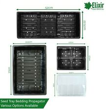 4 Cell Plastic Seed Bedding & Carry Trays