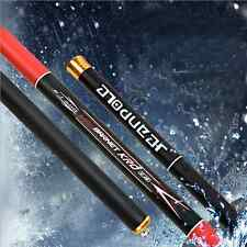 Carbon Surf Portable Fishing Rod Spinning Casting Telescopic Fishing Pole 1pc