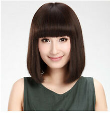 High Quality New Women Short Straight Synthetic Hair Anime Cosplay Full Wigs Wig