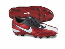 Nike Total 90 T90 Shoot IV FG 2011 Soccer Shoes Red/ White/ Black Kids Youth Jr