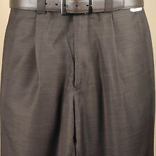 "Steve Harvey SLACK 38"" Waist  Dark Brown Dress Slack - PP32"