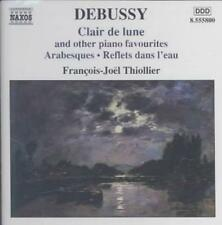 Debussy: Clair de lune & Other Piano Favourites New CD