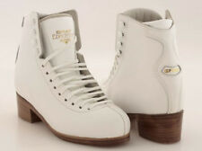 CLEARANCE FIGURE SKATES White Skating Boots Only GRAF EDMONTON SPECIAL