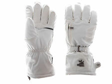 Level Gloves Bliss Beverly XCR white Snowboard gloves