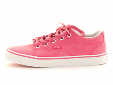 Vans Trainers Summer shoe Kress pink Lace up Textile Rubber