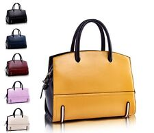 Fashion OL Style  Leather Satchel Totes Women Handbags Shoulder Crossbody Bags