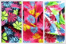 Funky Flower Print Cotton Poplin Dress Fabric (JL-87001-M)