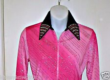 Girls Pink Ombre Western Rail, Pleasure, Rodeo, Trail, Queen & Glamour Shirt