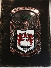 Handpainted COAT OF ARMS Crest Shield on SLATE - Mc Linden to Mc Stay