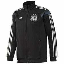 adidas Argentina World Cup WC 2014 Soccer Presentation Jacket Black Brand New