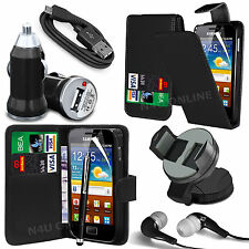 8 in 1 Bundle Kit Accessory Case Car Holder Charger For Samsung Galaxy Ace S5830
