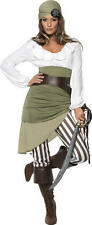 Smiffys SHIPMATE SWEETIE Pirate Fancy Dress Costume Adult Ladies/Womans BN