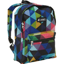 Everest Basic Pattern Backpack 31 Colors School & Day Hiking Backpack NEW