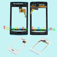 TOUCH SCREEN LENS GLASS DIGITIZER + FRAME FOR SONY ERICSSON XPERIA X8 #GS-528