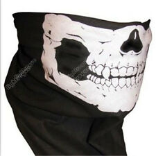 Mens Cotton Bandana Skull Bone Head Wrap Face Mask Biker wrap Scarf wristband