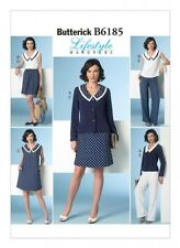 Butterick Ladies Easy Sewing Pattern 6185 Nautical Style Wardrobe (Butterick-...
