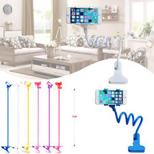 Universal Lazy Bed Stand Desktop Car Mount Holder 360°Stand Clip for Cell Phone