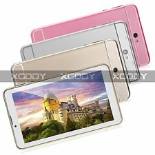 "7"" Dual Core Android 4.4 4GB Unlocked 3G Phone Call Phablet Multi-Color GPS WIFI"