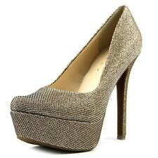 Jessica Simpson Waleo   Open Toe Canvas  Platform Heel