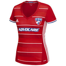adidas FC Dallas MLS 2016 Womens Soccer Home Jersey Red / White / Royal