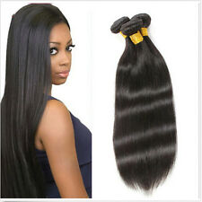 """3 Pcs/Lot 50G 12""""  100% Remy Virgin Human Hair Extensions Weave Weft Straight"""