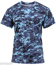 fitness t-shirt performance shirt sky blue digital camo camouflage rothco 44030