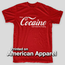 COCAINE Coca Yaho PARTY Rehab NYC Drugs Marijuana AMERICAN APPAREL T-Shirt