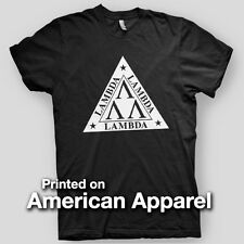 LAMBDA LAMBDA LAMBDA Revenge of the Nerds COLLEGE AMERICAN APPAREL T-Shirt