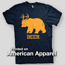 BEER DEER BEAR Sunny Philadelphia PADDY Party Comedy AMERICAN APPAREL T-Shirt