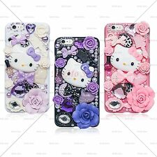 LuxuryCrystal Fantasy Fairy Kitty Handmade Case Cover for iPhone 6,6s,6 Plus