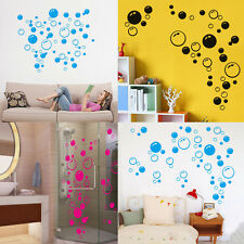 Hot Bubbles Paper Vinyl Art Bedroom Washroom Wall Sticker Removable Decal Decor